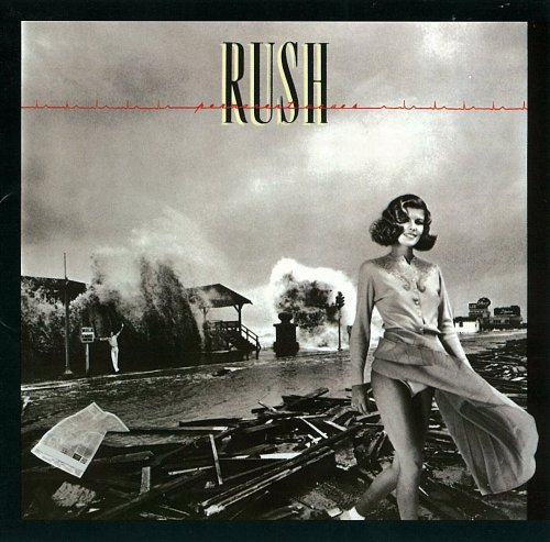 Original album cover of Permanent Waves by Rush