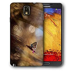 Snoogg Abstract Butterfly Printed Protective Phone Back Case Cover For Samsung Galaxy NOTE 3 / Note III