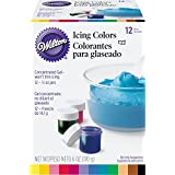 Wilton 601-5580 1/2-Ounce Certified-Kosher Icing Colors, Set of 12