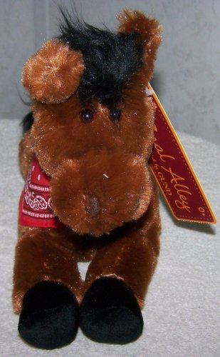 "Animal Alley *Nutley* 10"" Plush Horse - 1"