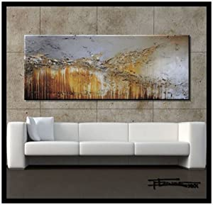 Extra Large Modern Abstract Canvas Wall Art Limited Edition Hand