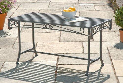 GreatGardensOnline Versailles Metal Garden Table GGO43