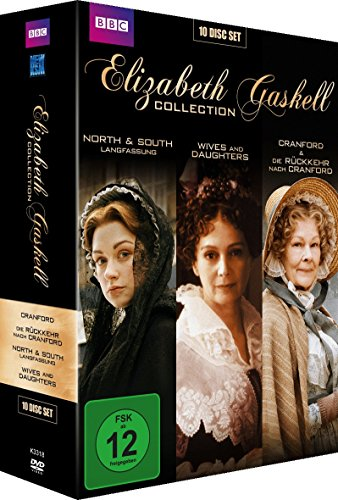 Elisabeth Gaskell Collection: Cranford - Die Rückkehr nach Cranford / North & South - Langfassung / Wives & Daughters [Collector's Edition] [10 DVDs]