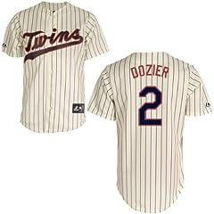 Brian Dozier Minnesota Twins Alternate Ivory Replica Jersey by Majestic by Majestic