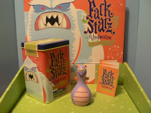 NEW Disney Vinylmation Park Starz Series 1 Figment Tin Journey Into Imagination Epcot LOOK