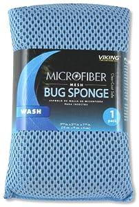 Viking 845100 Microfiber Mesh Bug and Tar Sponge (Colors may vary) by Viking