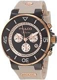 Mulco Unisex MW3-11009-095 Ilusion Ceramic Chronograph Swiss Movement Watch