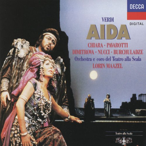 Chiara - Verdi: Aida / Chiara, Pavarotti, Dimitrova, Nucci, Burchuladze, Maazel - Zortam Music