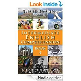 Intermediate English Comprehension - Book 4