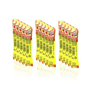 Slim Jim Original Snack Sticks, 0.28 Ounce, 15 Count Paper Free Eco Packaging by Altoids