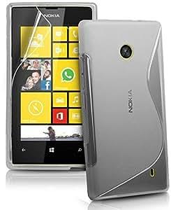 Generic Premium Quality TPU S Line case for Nokia Lumia 520 - Transparent S Line