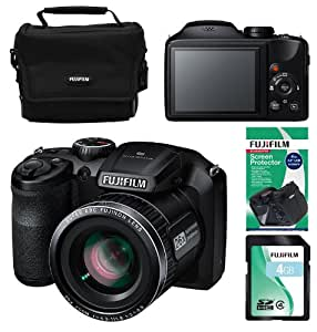 Fujifilm FinePix S4600 16MP Digital Bridge Camera - Fuji Super Bundle