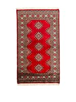 QURAMA Alfombra Kashmir Rojo/Multicolor 164 x 92 cm