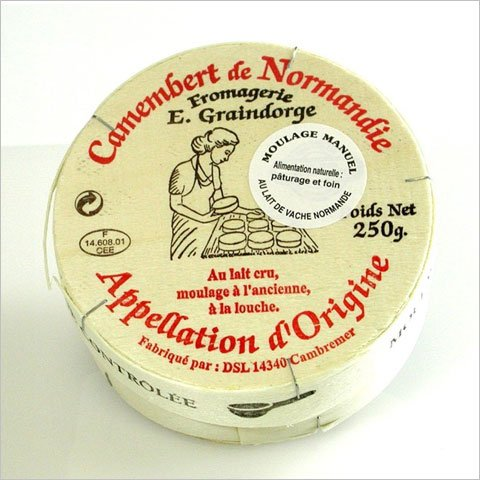 カマンベールチーズ250g AOC