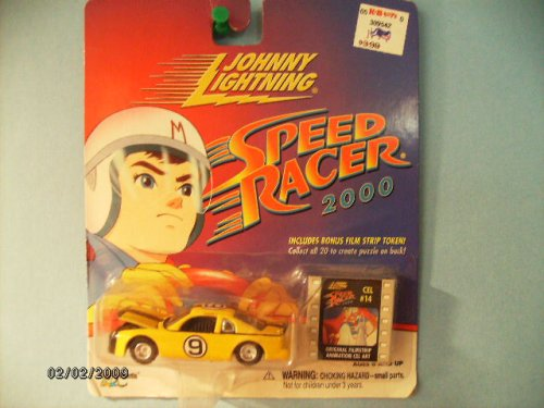 "Johnny Lightning Speed Racer 2000 ""Racer X Stock Car"" with Bonus Film Strip Token"