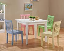 Big Sale Best Cheap Deals 5pc Kids Set Play Room Table & Chairs