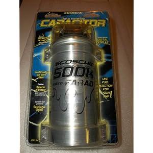 Scosche 500k Micro Farad Capacitor: Amazon.com: Industrial