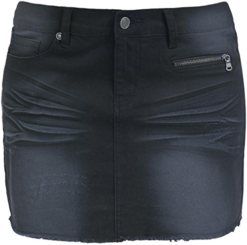 Full Volume by EMP Vintage Miniskirt Gonna nero S