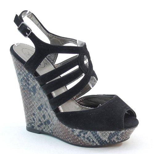 Brieten Peep Toe Slingback Shoes Price Compare
