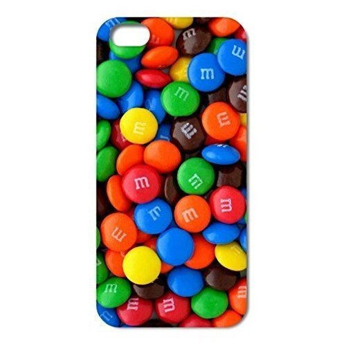 6353309M75516943 Wow M&M's Chocolate Candies style Clear Hard Back Case Cover for iPhone 6 Plus(5.5 inch)