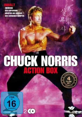 Chuck Norris - Action Box [2 DVDs]