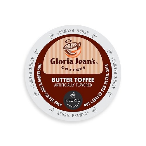 Gloria Jean's Coffee Butter Toffee, K-Cup Portion Pack for Keurig Brewers 96-Count (K Cup Coffee Toffee compare prices)