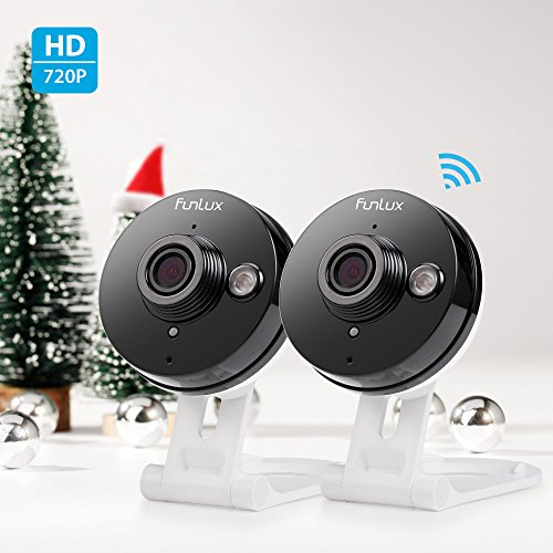Funlux-720p-HD-Wireless-Smart-Home-Day-Night-Security-Surveillance-Camera-2-Pack