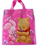 Pink Baby Winnie the Pooh and Piglet Traveling Tote Bag
