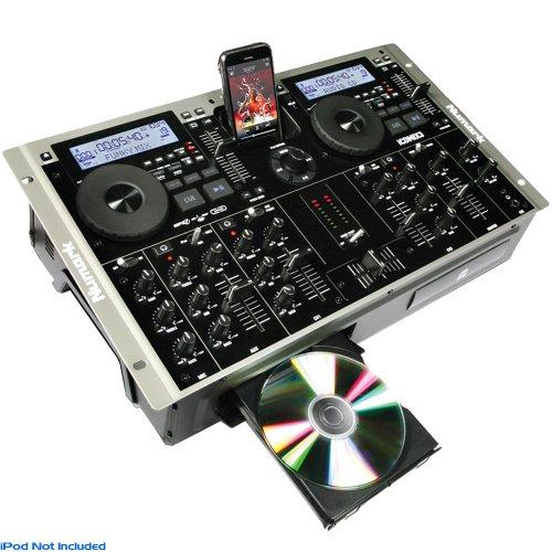 Numark iCDMIX3 Dual MP3 / CD Player Mixer and iPod Dock