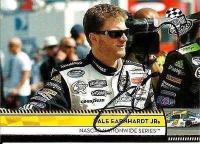 Dale Earnhardt Jr Signed 2009 Press Pass Hellmans NASCAR Trading Card - Autographed NASCAR Cards