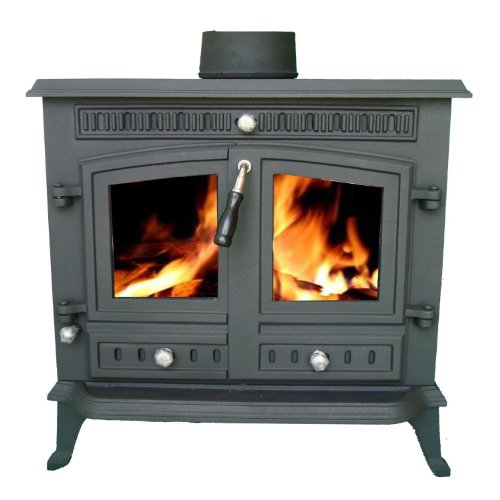 Sale This Month Only 50% Off Stockholm 12 kw Multi Fuel Cast Iron Stove