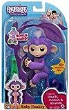 WowWee Fingerlings Baby Monkey - Mia - Purple ( Includes Bonus Stand)