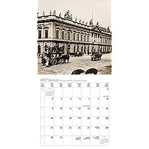 Historisches Berlin 2017: Broschürenkalender mit Ferienterminen