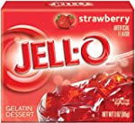 Jell-O Strawberry Gelatin Dessert 85g...