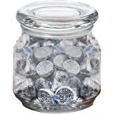 Hersheys Kisses in Pritchey Patio Glass Jar 8oz Trade Show Giveaway