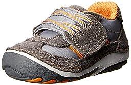 Stride Rite SRT SM Hammett Sneaker (Infant/Toddler),Grey,3 M US Infant