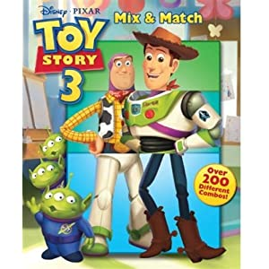 Toy Story 3 Mix & Match