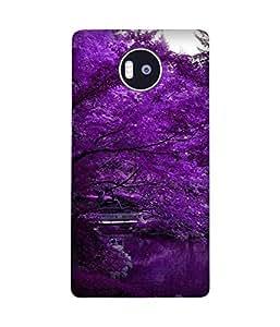 Purple Tress Microsoft Lumia 950 XL Case