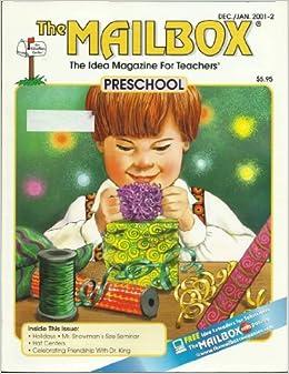 mailbox preschool magazine the mailbox the idea magazine for teachers preschool dec 318