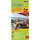 Rad- und Wanderkarte / Fiets- en wandelkaart ANKE Arnhem - Nijmegen - Kleve - Emmerich: mit Ausflugszielen, Einkehr- & Freizeittipps, wetterfest, reissfest, abwischbar, GPS-genau. 1:50000
