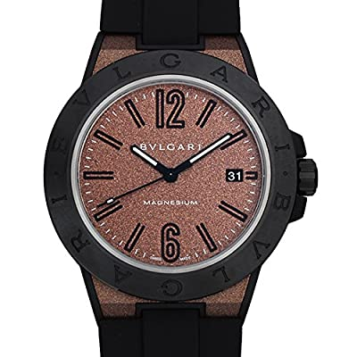 Bvlgari Diagono magnesium Brown lacquer DG41C11SMCVD Men Watch