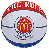 Anaconda Sports® The Rock® MG-4455-MC15 2015 McDonald's All American High School Game Logo 5 Inch Mini Rubber Basketball