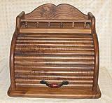 Roll Top Bread Box (Walnut)