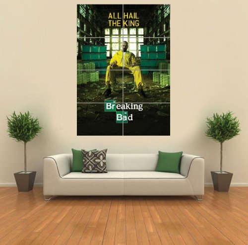 Breaking Bad All Hail The King Giant Wall Art Print Picture Poster G1153