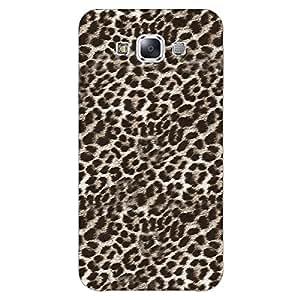Jugaaduu Cheetah Leopard Print Back Cover Case For Samsung Galaxy E7