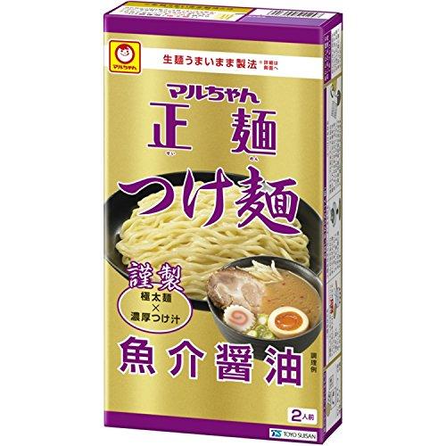 マルちゃん正麺 つけ麺 魚介醤油 (2人前)242g×2箱