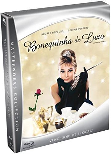 Blu-ray Bonequinha de Luxo - Limited Edition + Book [ Breakfast at Tiffany's ] [ Subtitles in English + French + Spanish + Portuguese ]