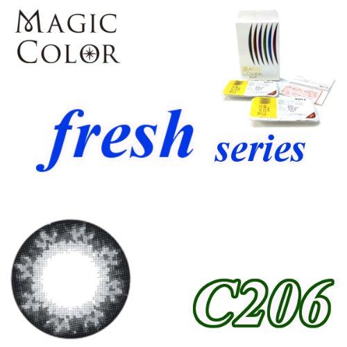 MAGICCOLOR (マジックカラー) fresh C206 度なし 14.0mm 1ヵ月使用 2枚入り