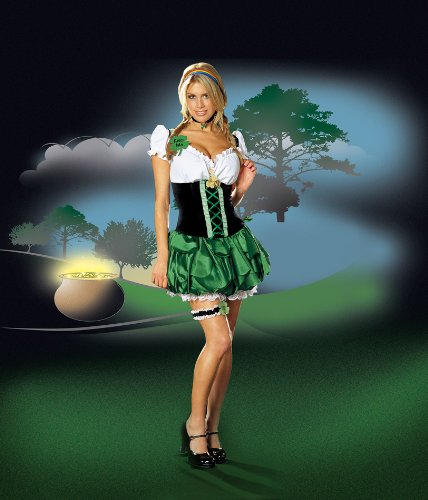 Dreamgirl Women's St. Patrick's Costume
