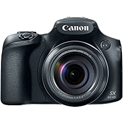 Canon PowerShot SX60 HS Digital Camera - Wi-Fi Enabled